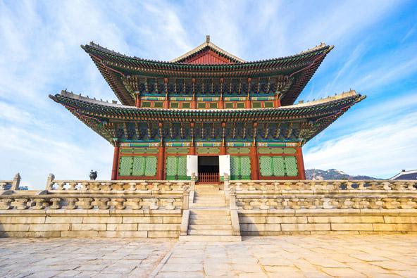 ארמון גיונבוקגונג בסיאול, בירת קוריאה הדרומית