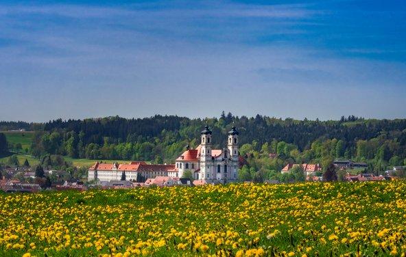 מנזר אוטובוירן, הסמוך לממינגן