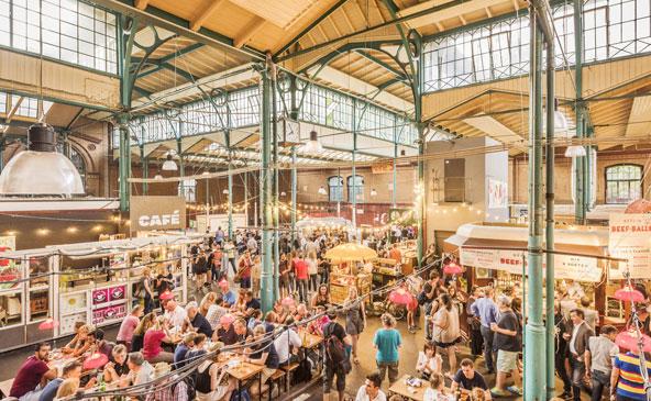 שוק האוכל Markthalle Neun בברלין. רעבים לא תצאו מכאן
