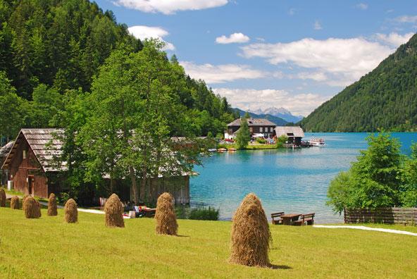 מנופי קרינתיה. אוסטריה מציעה אזורי תיירות יפהפיים, שחלקם לא מוכרים לישראלים | צילום: שאטרסטוק