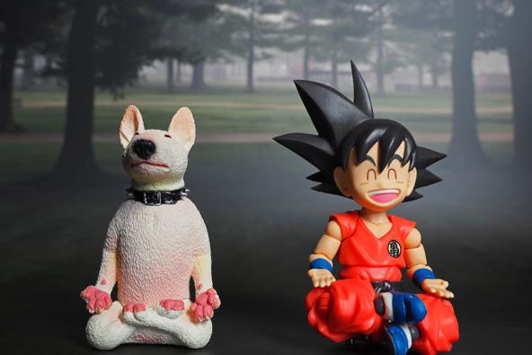 בובות של דמויות מתוך דרגון בול Z, סדרת אנימה פופולרית גם בישראל