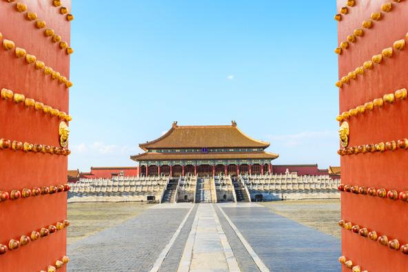 הצצה למתחם העיר האסורה, משכנם של קיסרי סין במשך 500 שנה