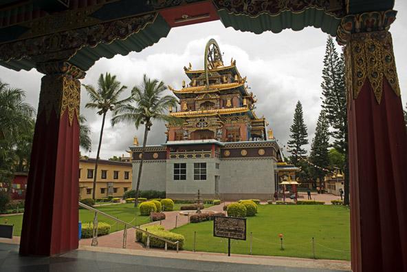 המנזרים הטיבטים בדרום הודו