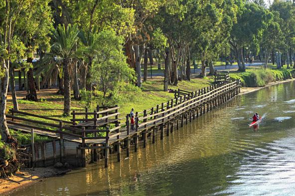 פארק הירקון. שלווה כפרית בלב העיר הגדולה