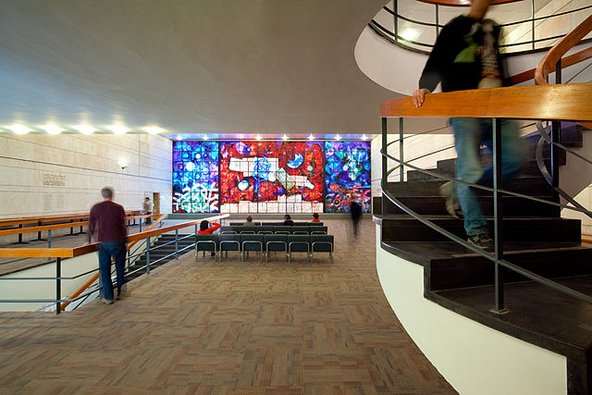 חלונות ארדון בספרייה הלאומית