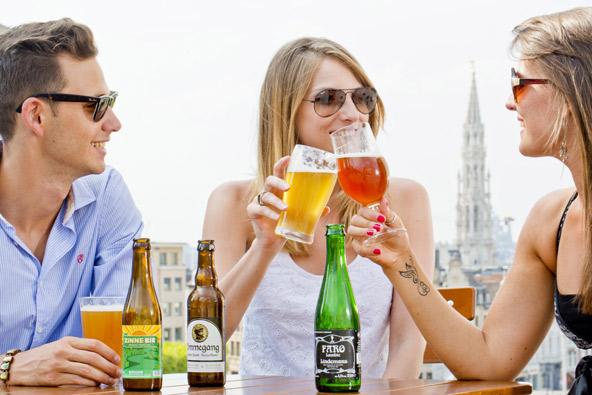 עם עשרות מבשלות בירה מקומיות, בריסל היא מקום מושלם לאוהבי בירה | הצילום באדיבות visit brussels