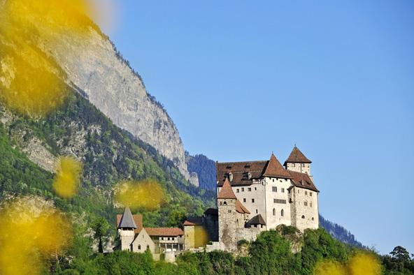 טירת גוטנברג, אחת הטירות השמורות בליכטנשטיין
