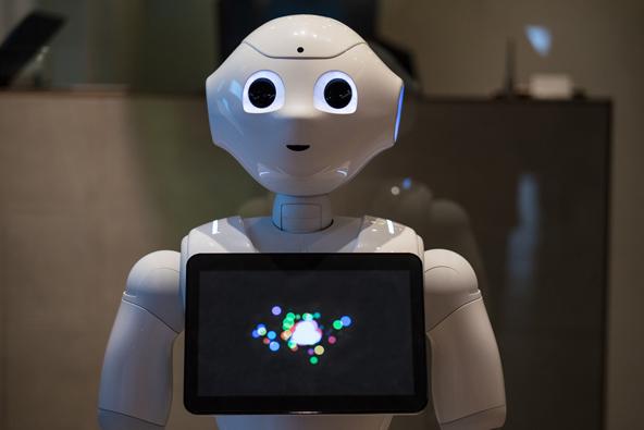 פפר, הרובוט במגדל טוקיו