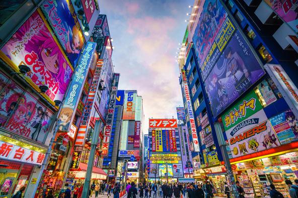 רובע אקיהברה בטוקיו, גן עדן לחובבי טכנולוגיה
