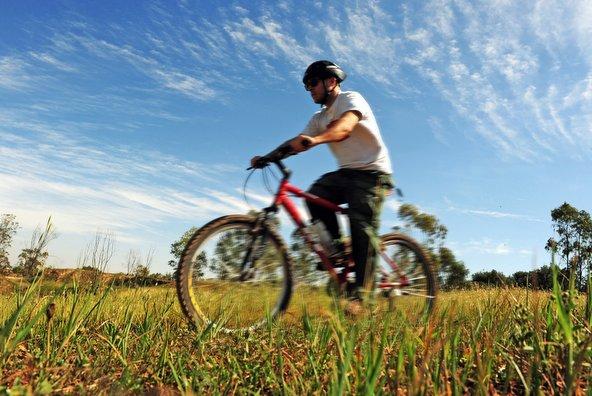 מסלול אופניים באזור בארי