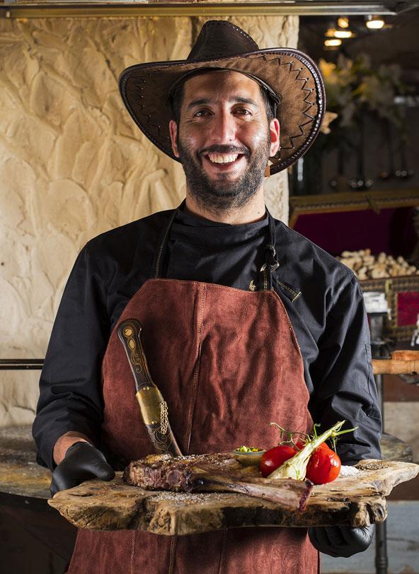 השף באשיר סלימאן | צילומים: אפיק גבאי