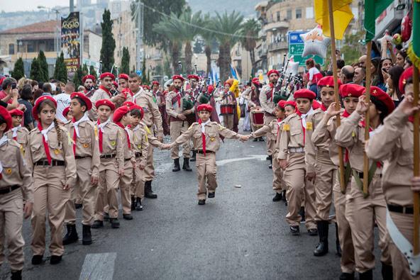 תהלוכה בוואדי ניסנאס | הצילום באדיבות בית הגפן