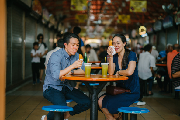 את הריכוז הגדול ביותר של דוכני אוכל אפשר למצוא בקניונים ובשווקים