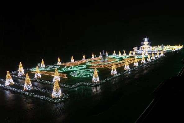 גני האור בארמון וילאנוב