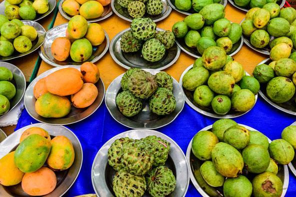 דוכן פירות בליטל אינדיה, רובע המהגרים ההודיים