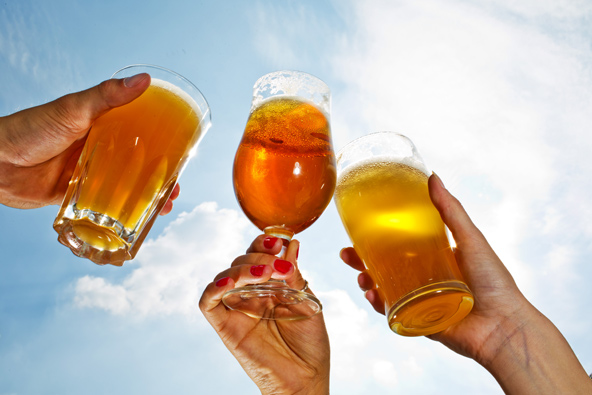 כוסות בירה בבריסל, הצילום באדיבות visit brussels