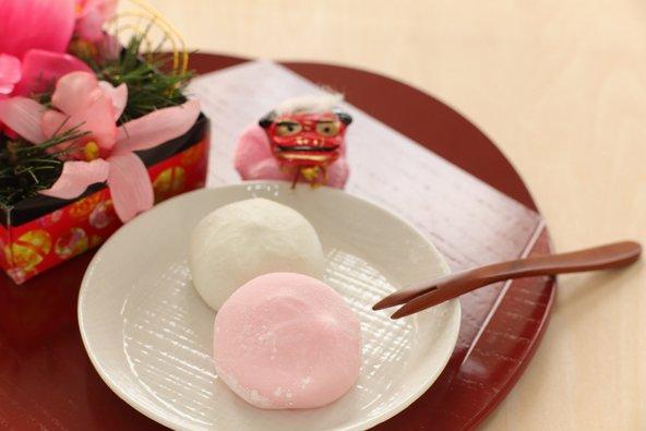 מוצ'י מהמאכלים המסורתיים של השנה החדשה ביפן