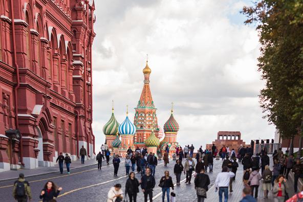 הכיכר האדומה וכנסיית וסילי הקדוש, מוסקבה   צילום אלה בורמן