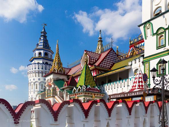 קרמלין איזמאילובו, מתחם תרבות ומסחר הממוקם ברובע איזמאילובו במוסקבה | צילומים בכתבה: אלה בורמן