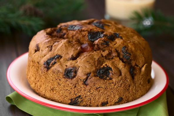 פאן דה פסקואה, מאפה המוגש בארוחות משפחתיות בחג המולד ובערב השנה החדשה