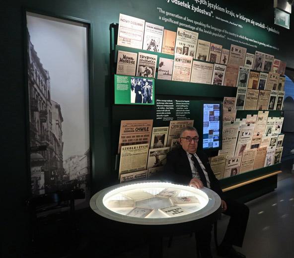 מוזיאון POLIN מגולל את סיפורם של יהודי פולין באופן יוצא דופן