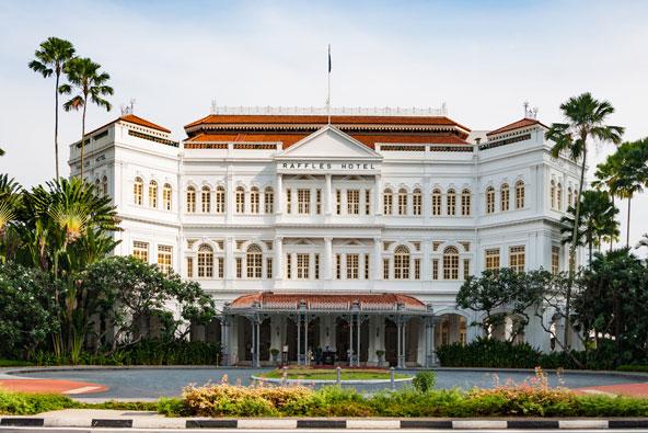 מלון ראפל, שריד מרשים לימים הקולוניאליים