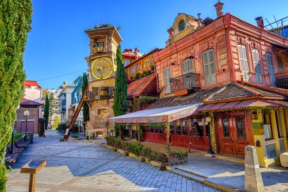 תיאטרון גבריאדזה, תיאטרון הבובות הראשון בגאורגיה