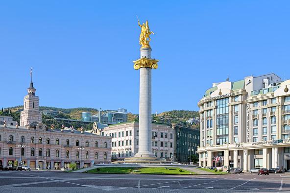 כיכר החירות, הלב הפועם של טביליסי