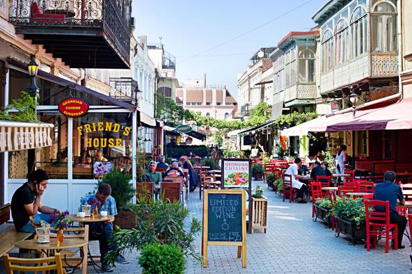 מסעדות ובתי קפה בעיר העתיקה