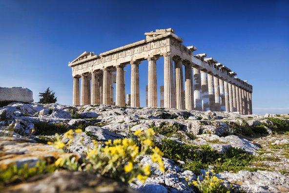 מקדש הפרתנון באקרופוליס של אתונה