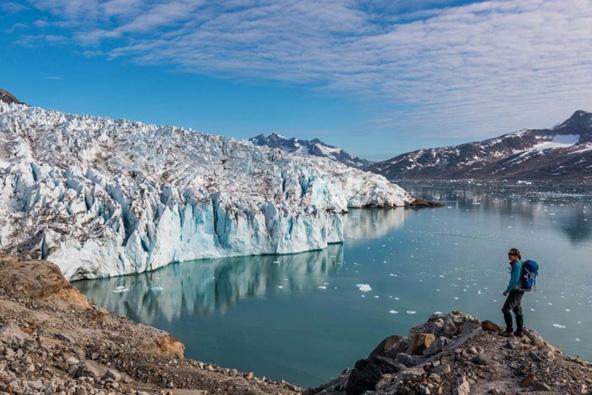 נופי גרינלנד מתגלים בשיא עוצמתם במהלך הטרק, צילום: יזהר דמטר