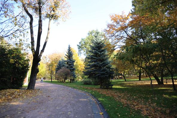 פארק איוון פרנקו, הפארק העתיק בעיר