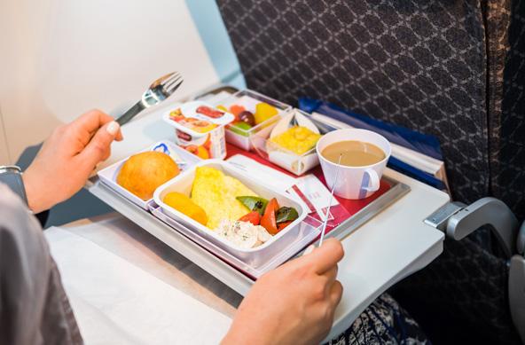 האם שווה לשלם מאות שקלים יותר על כרטיס טיסה ולקבל ארוחה במטוס? ההחלטה בידיכם...