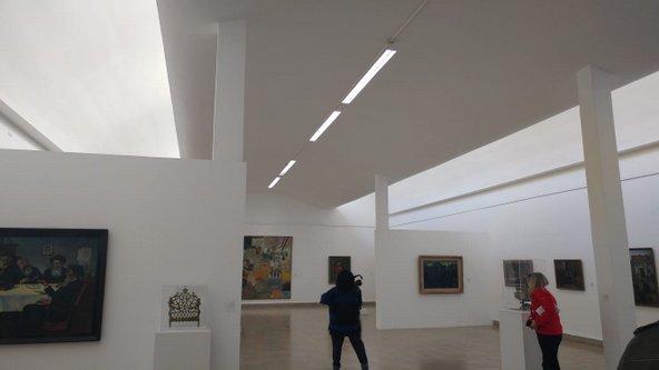 התערוכה במשכן לאמנות משלבת יצירות אמנות עם יודאיקה   צילום: באדיבות המשכן לאמות