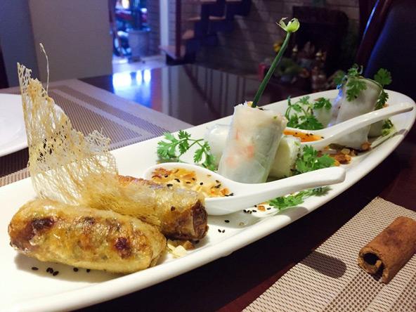 רולים בכמה גרסאות במסעדת דונג, אחת המומלצות בעיר | צילום: Duong's Restaurant