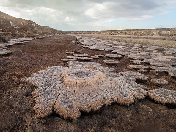 באזור יש המוני תופעות גאולוגיות מופלאות