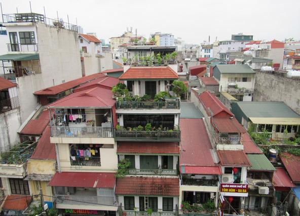 מבט על גגות העיר העתיקה