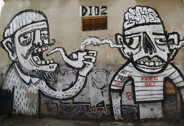 אמנות רחוב בשכונת פלורנטין בדרום תל אביב