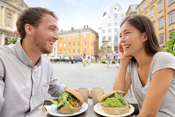 מסעדה טבעונית בשטוקהולם, בירת שוודיה