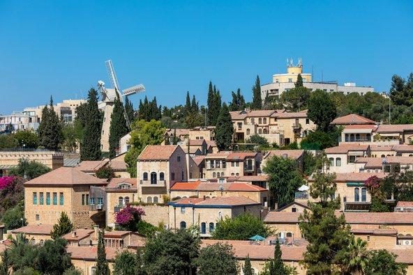 שכונת ימין משה וטחנת הרוח