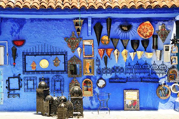 מרוקו , עם טנג'יר ומפלי אוזוד