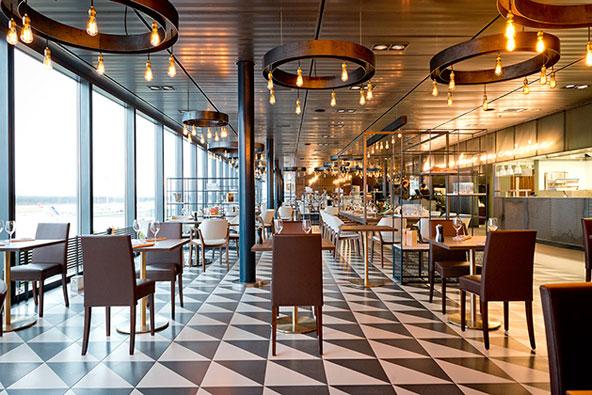 מסעדת לה שף בנמל התעופה של ז'נבה | צילום Genève Aéroport ©