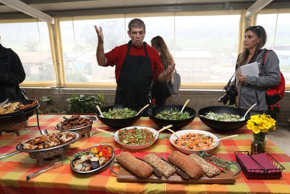 לצד הבשר יחכו לכם בנפלאות הגריל הארגנטינאי המון ירקות