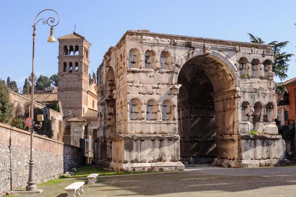 קשת יאנוס ברומא