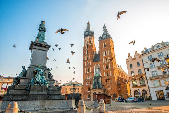 קרקוב. הישראלים אוהבים חופשות אורבניות בפולין | צילומים: שאטרסטוק