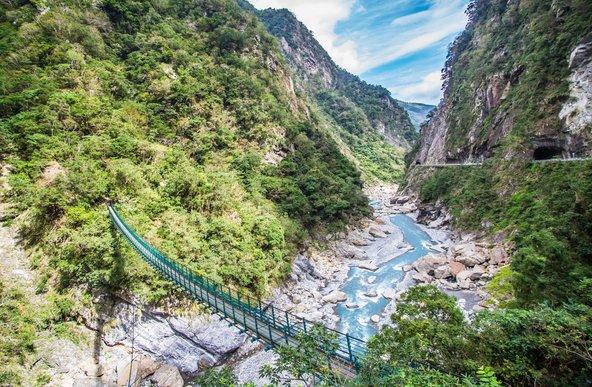 קניון טארוקו, אחד מאתרי הטבע המרהיבים בטייוואן