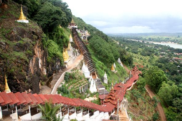 לא קלה דרכנו: המוני מדרגות תלולות מובילות אל מערות פינדייה
