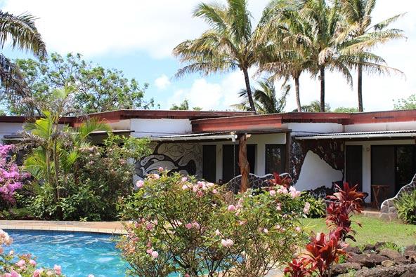 מלון גומרו, פיסה של גן עדן טרופי