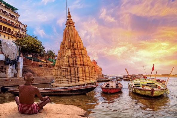 טיול מאורגן להודו: דרך המהרג'ות וורנאסי