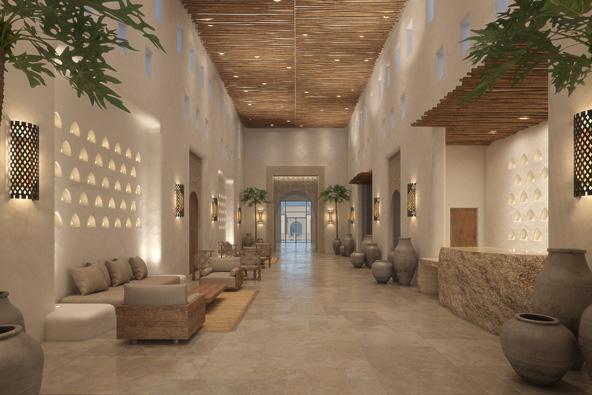 מלון קדמא, שייפתח בתחילת 2020, שומר על קו עיצובי וצבעים מדבריים